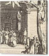 The Death Of Judas Canvas Print