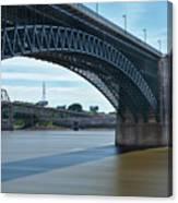 The Eads Bridge Canvas Print