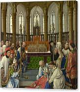 The Exhumation Of Saint Hubert Canvas Print