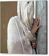 The Faceless Woman Canvas Print