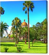 The First Baptist Church Of Tampa  Canvas Print