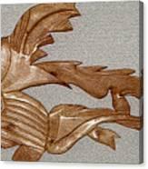 The Fish Skeleton Canvas Print
