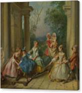 The Four Ages Of Man   Childhood Canvas Print