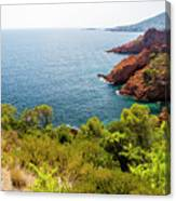 The French Riviera  Canvas Print