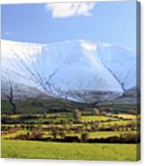 The Galtees  Ireland's Tallest Inland Mountains Canvas Print