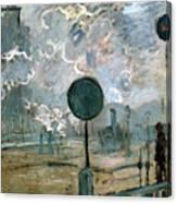 The Gare Saint-lazare Canvas Print