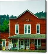 The General Store Canvas Print