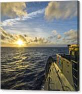 The Guided-missile Cruiser Uss Monterey Canvas Print