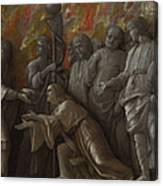 The Introduction Of The Cult Of Cybele At Rome Canvas Print