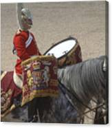 The Kettledrums Of Household Cavalry Canvas Print