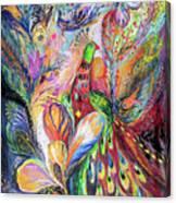 The King Bird Canvas Print
