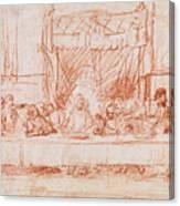 The Last Supper, After Leonardo Da Vinci Canvas Print