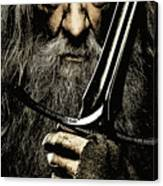 The Leader Of Mankind  - Gandalf / Ian Mckellen Canvas Print