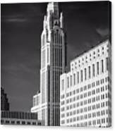 The Leveque Tower Of Columbus Ohio Canvas Print