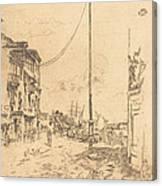 The Little Mast Canvas Print