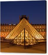 The Louvre Art Museum Canvas Print