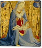 The Madonna Of Humility Canvas Print
