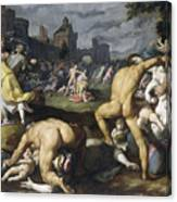 The Massacre Of The Innocents, 1590 Canvas Print