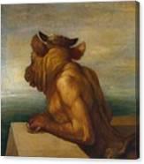 The Minotaur Canvas Print