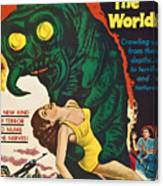 The Monster That Challenged The World Canvas Print