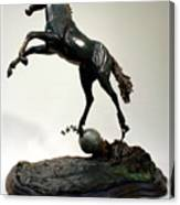 The Moonhorse Bronze  Canvas Print