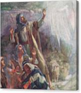 The Nativity Canvas Print