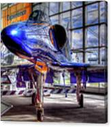 The Navy's Blue Angel Canvas Print