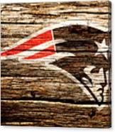 The New England Patriots 3a Canvas Print