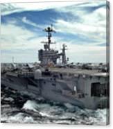 The Nimitz-class Aircraft Carrier Uss Canvas Print