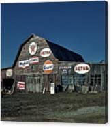 The Nostalgia Barn Canvas Print