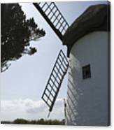 The Old Irish Windmill Canvas Print