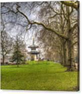The Pagoda Battersea Park London Canvas Print