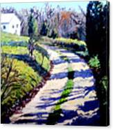 The Path To Huntley Canvas Print