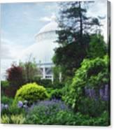 The Perennial Garden Canvas Print