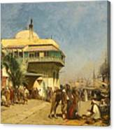 The Port Of Algiers Canvas Print