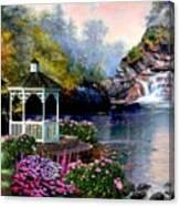 The Prayer Garden 3 Canvas Print