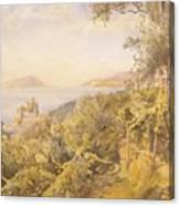 The Priest Garden Canvas Print