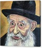 The Rabbi Canvas Print