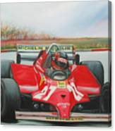 The Racing Car Canvas Print
