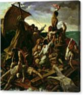 The Raft Of The Medusa Canvas Print