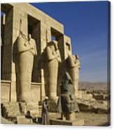 The Ramesseum Canvas Print
