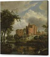The Ruins Of Brederode Castle Canvas Print