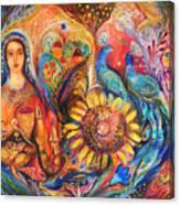 The Shabbat Queen Canvas Print