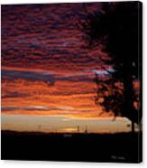 The Shortest Day Sunrise Canvas Print