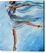 The Sky Dance Canvas Print