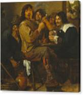 The Smokers Canvas Print
