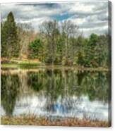 The Spring Pond Canvas Print
