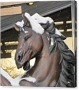 The Stood Horse  Canvas Print