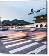 The Streets Of Seoul, South Korea Canvas Print