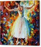 The Symphony Of Dance Canvas Print